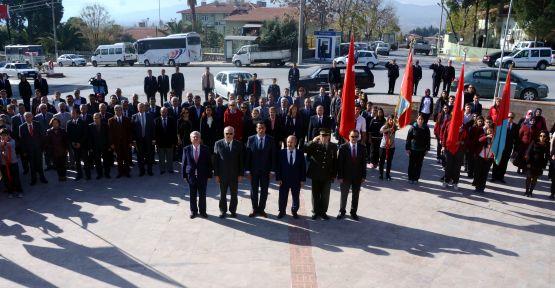 24 Kasım Öğretmenler Günü, Yatağan'da kutlandı