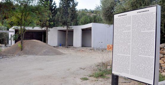 """3 bin 500 yıllık antik kente """"Karşılama merkezi"""""""