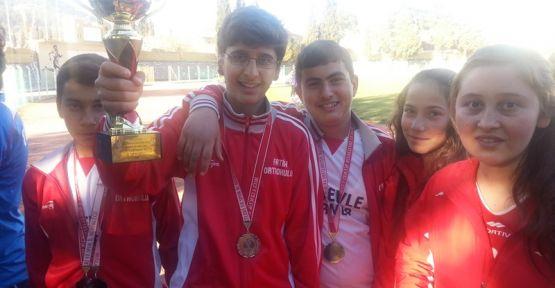 5 bin yıllık sporda, Fatih Ortaokulu'nun başarısı