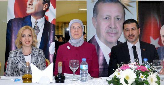 Aile ve Sosyal Politikalar Eski Bakanı Ramazanoğlu, Yatağan'daydı