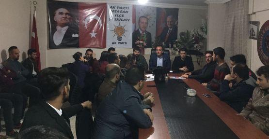 AK Parti gençliği, işi şansa bırakmıyor