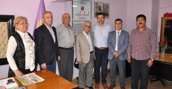 AK Parti İl Başkanı Mete, Yatağan'a çıkarma yaptı