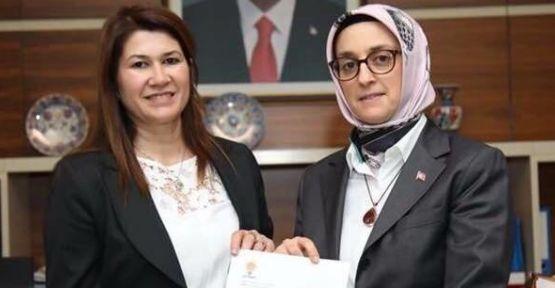 AK Parti Kadın Kolları İl Başkanlığı'na Yatağanlı isim atandı