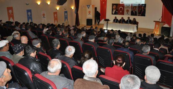 AK Parti Yatağan referandum çalışmalarına başladı