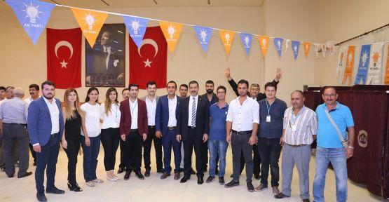 AK Parti Yatağan'da Tekin, güven tazeledi