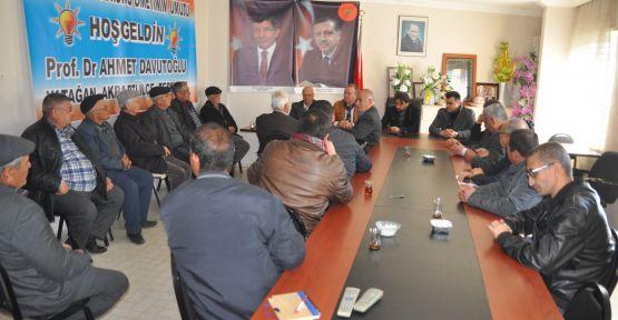 AK Partili Kayacık'tan teşekkür turu