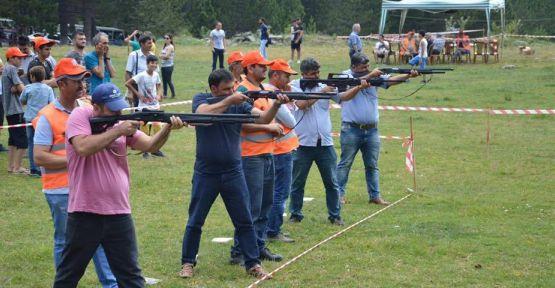 Atıcılar Gökçukur'da yarıştı
