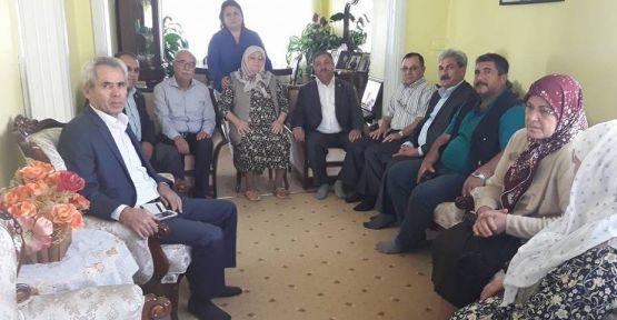 Başkan Baştuğ'dan Buğday'ın ailesine taziye ziyareti