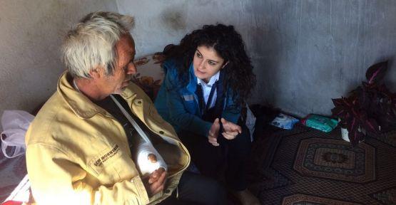 """Bencik'te yaşam mücadelesi veren aileye, 'Büyükşehir"""" el uzattı"""