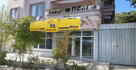 Bozarmut PTT hizmete girdi