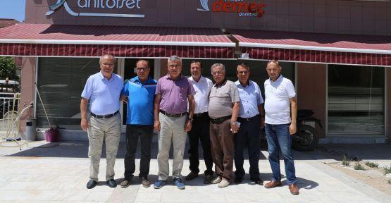 Büyükşehir Belediye Başkan Aday Adayı Karakaya'dan ziyaret