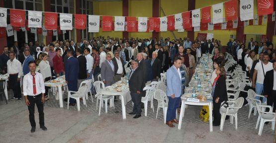 CHP Kavaklıdere'den birlik, beraberlik ve dayanışma yemeği