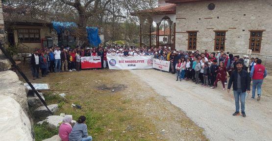 Doğu Anadolu'dan gelen öğrenciler, Stratonikeia Antik Kenti'ni gezdi