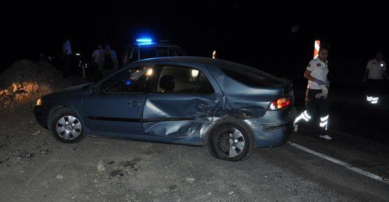 Eski milletvekili Yatağan'da trafik kazası yaptı