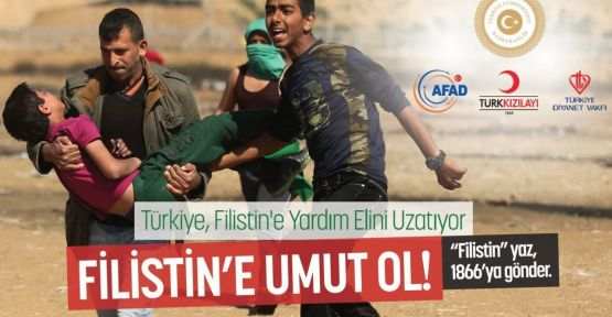 Filistin İnsani Yardım Kampanyası düzenlendi