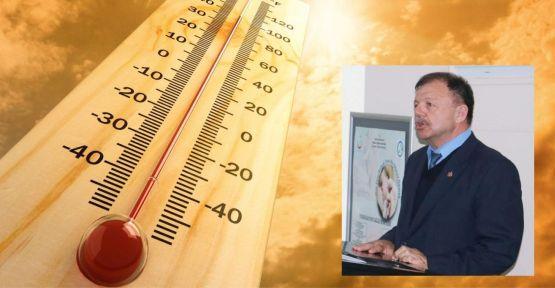 Gençer, sıcak havalara karşı uyardı