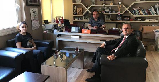 Girgin'den Demeç Gazetesi ve Maden-İş'e ziyaret