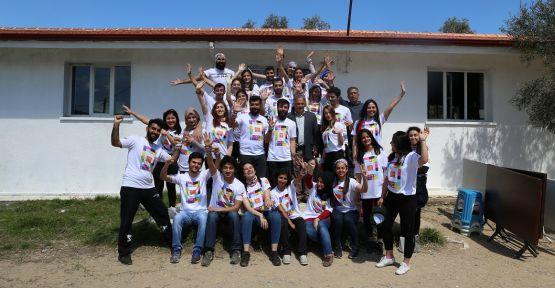 Gönüllülerden eğitime büyük destek