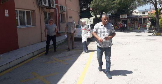 Göreve iade edilen öğretmen ve eşi gözaltına alındı