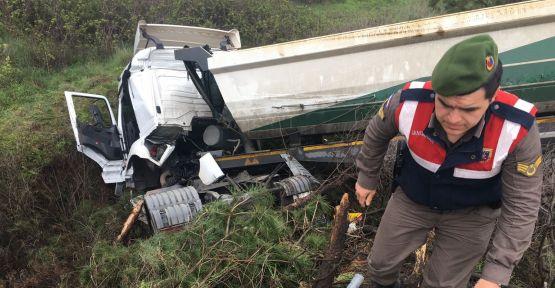 Hafta sonunun kaza bilançosu: 2 kaza, 3 yaralı