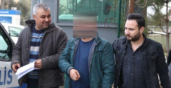 Karakol önünde pusu kuran kişi tutuklandı