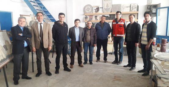 Maden Direktörlüğünden, Yatağan Meslek Yüksek Okuluna ziyaret