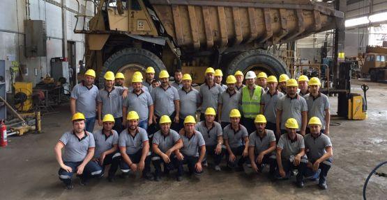 Madende işe başlayanlara İSG eğitim verildi