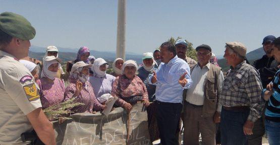 Mehmet Demir söz verdi, eylem sona erdi