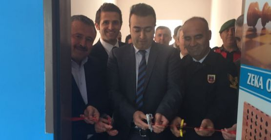 """Menteşe'de 'Zeka Oyunları Sınıfı"""" açıldı"""