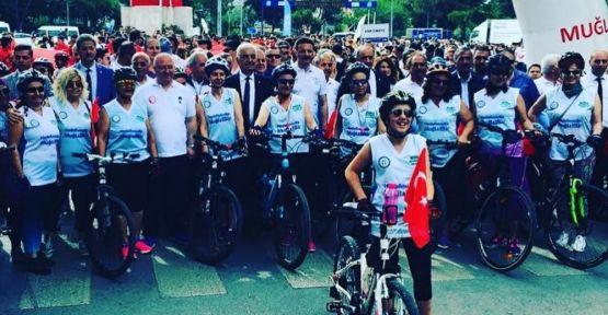 Mor Pedal'lı kadınlar, 81 ili pedallıyorlar
