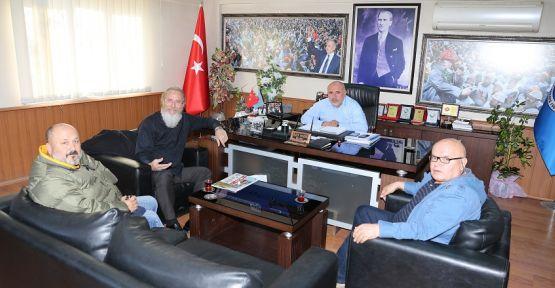 Tes-İş eski şube başkanından yeni başkana ziyaret