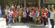 CHP'li kadınlardan Yatağan çıkarması