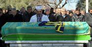 Fenerbahçe formalı tabutla son yolculuğuna...
