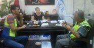 İSG uzmanlarından SGM Müdürüne ziyaret