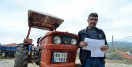 İstanbul'u görmeyen traktör sürücüsüne...