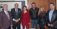 Kıbrıs İlkokulu'ndan başkan ve yardımcısına...