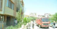 Yatağan'da ev yangını maddi hasara neden...