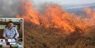Orman İşletme Anız Yangınları Uyarısında...