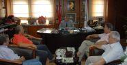 Yunan heyetinden Başkan Işık'a ziyaret