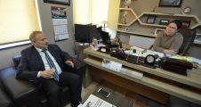 AK Partili İsmail Baykal'dan gazetemize ziyaret