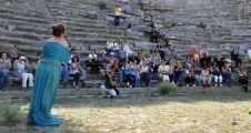 3 bin yıllık antik kentte 'sürpriz' opera konseri