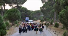 KOAH'a dikkat çekmek için 3 kilometre yürüdüler