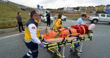 Yatağan'da trafik kazası: 1 yaralı