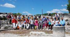 İngiliz gazeteciler Stratonikeia'yı gezdi