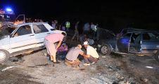 Nişandan dönen araç kaza yaptı: 4 ölü, 6 yaralı