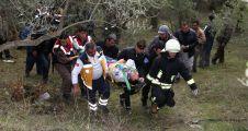 Vardiyaya giden işçileri taşıyan servis kaza yaptı: 9 yaralı