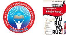 Laik eğitim ve emeğe saygı için Yatağan'dan Tandoğan'a yürüyecekler