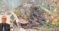 Yıkılan köprü, muhtarın anısına yapılacak!