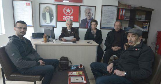 Vatan Partisi'nden Devrim Yasaları için davet