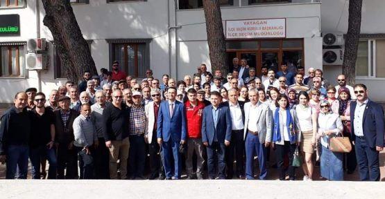 Yatağan İYİ Parti'den genel başkanlarına imza desteği